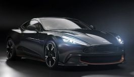 Aston Martin попрощався з Vanquish спецсерією