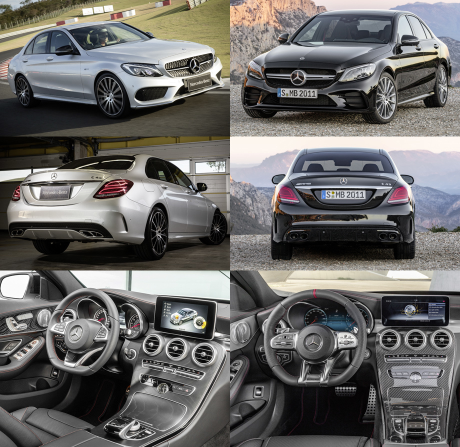 Седан и универсал Mercedes-AMG C 43 4Matic стали мощнее