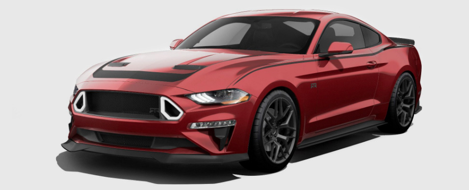 Фастбек Ford Eagle Squadron Mustang GT напомнил о войне