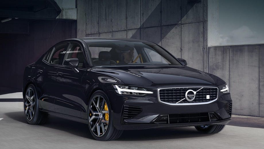 Седан Volvo S60 T8 Polestar Engineered разошёлся по подписке