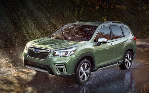 Новий Subaru Forester прибуде до нас без ручної коробки