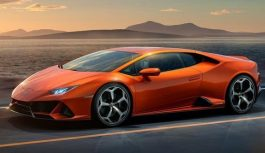 Lamborghini презентувала новенький Huracan Evo